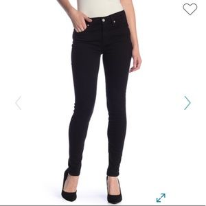 7 For All Mankind The Skinny Jean Dark Blue